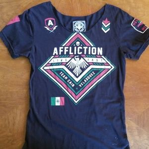 Womens Affliction Tshirt